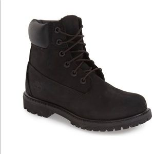 """1DAY🎉PRICE FIRM🎉Timberland 6"""" black boots"""